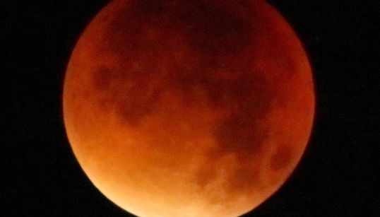 A Rare Total Lunar Eclipse Is Set To Bring A Spectacular 'Super Blood Wolf