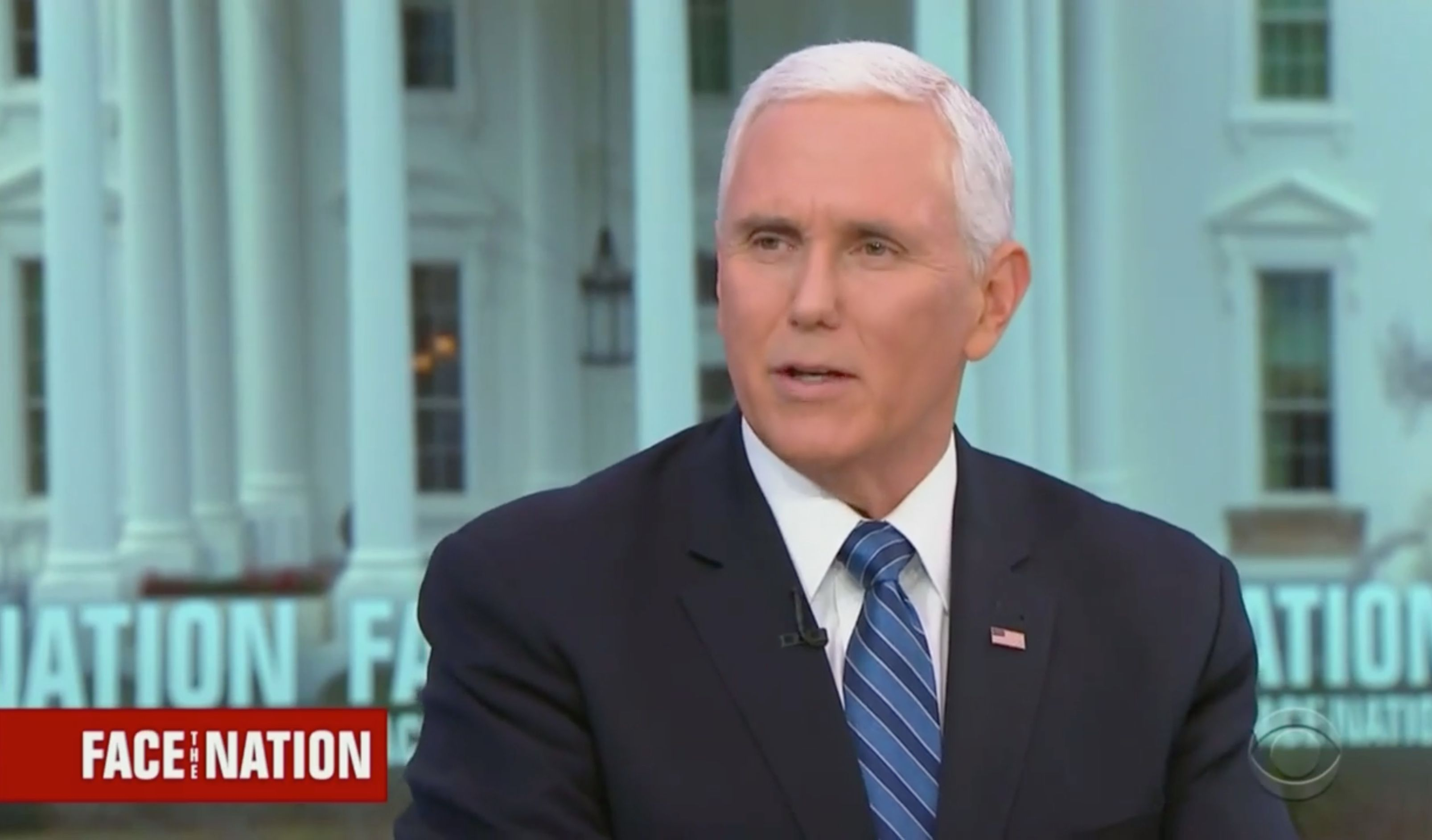Mike Pence Invokes Martin Luther King Jr To Sell Trumps Border Wall