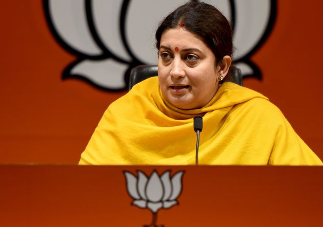 Smriti Irani Says India Will Soon Have Its Own Country-Specific Apparel