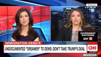 Belen Sisa, a Dreamer who spoke with CNN on Sunday, said Trump's DACA extension deal is the wrong solution to the shutdown.