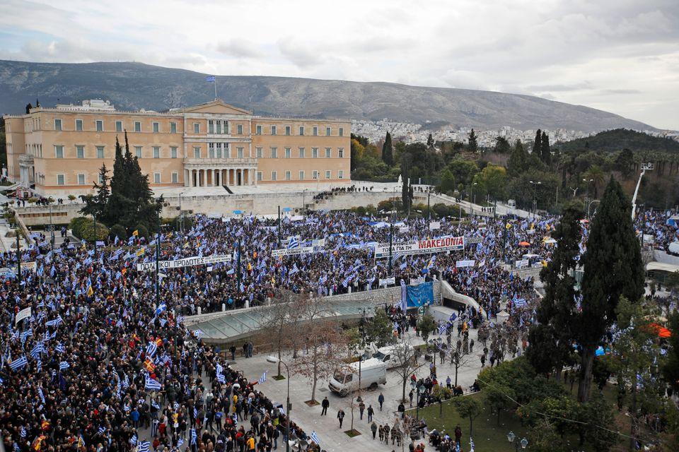 Όλα όσα δεν προσέξατε στο συλλαλητήριο - Η συγκέντρωση στο Σύνταγμα για τη Μακεδονία σε