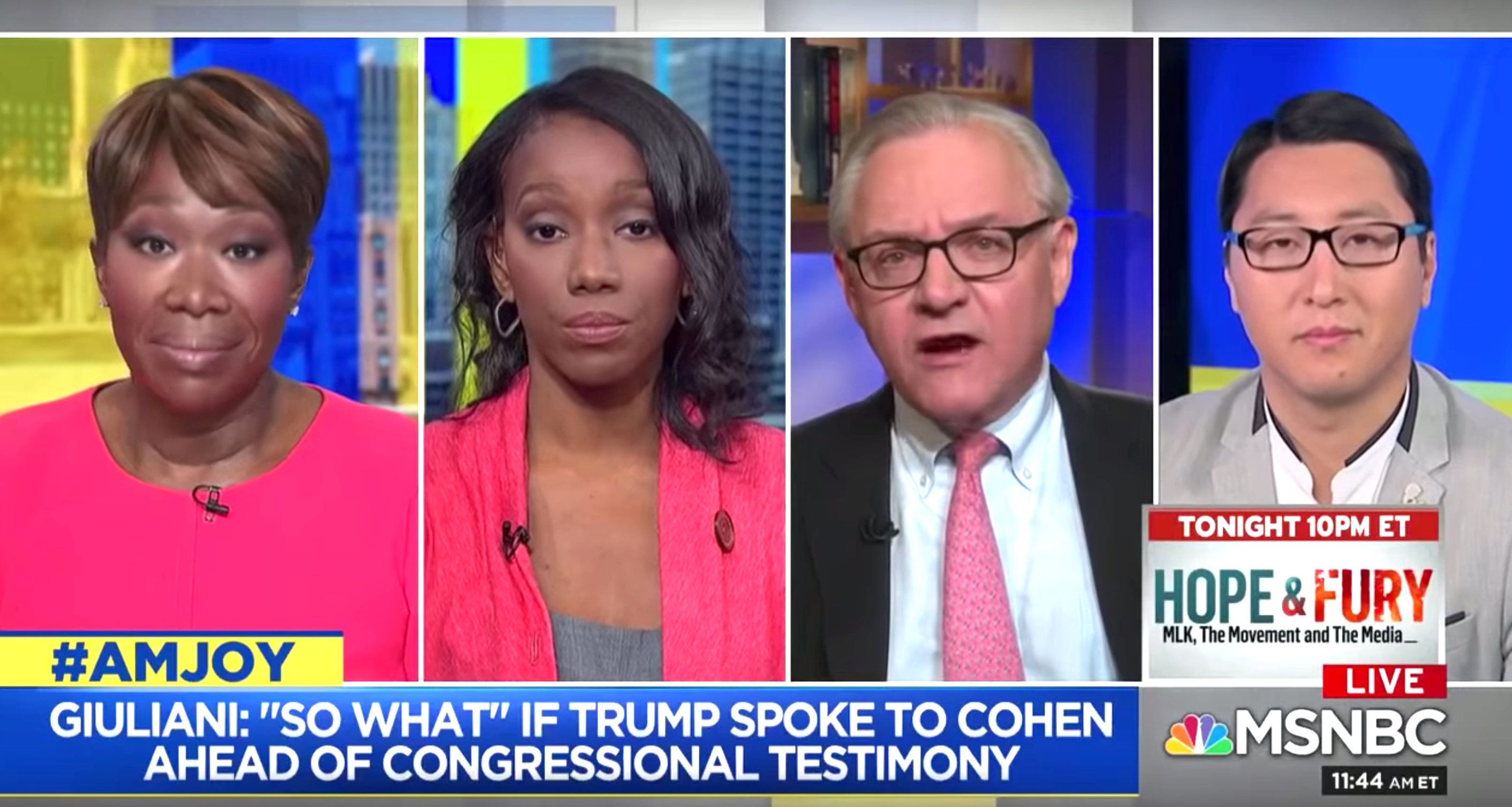 A merciless MSNBC panel roasted President Donald Trump's lawyer as the worst the legal profession has to offer.