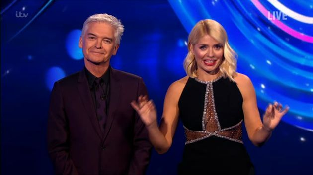 Phillip Schofield and Holly
