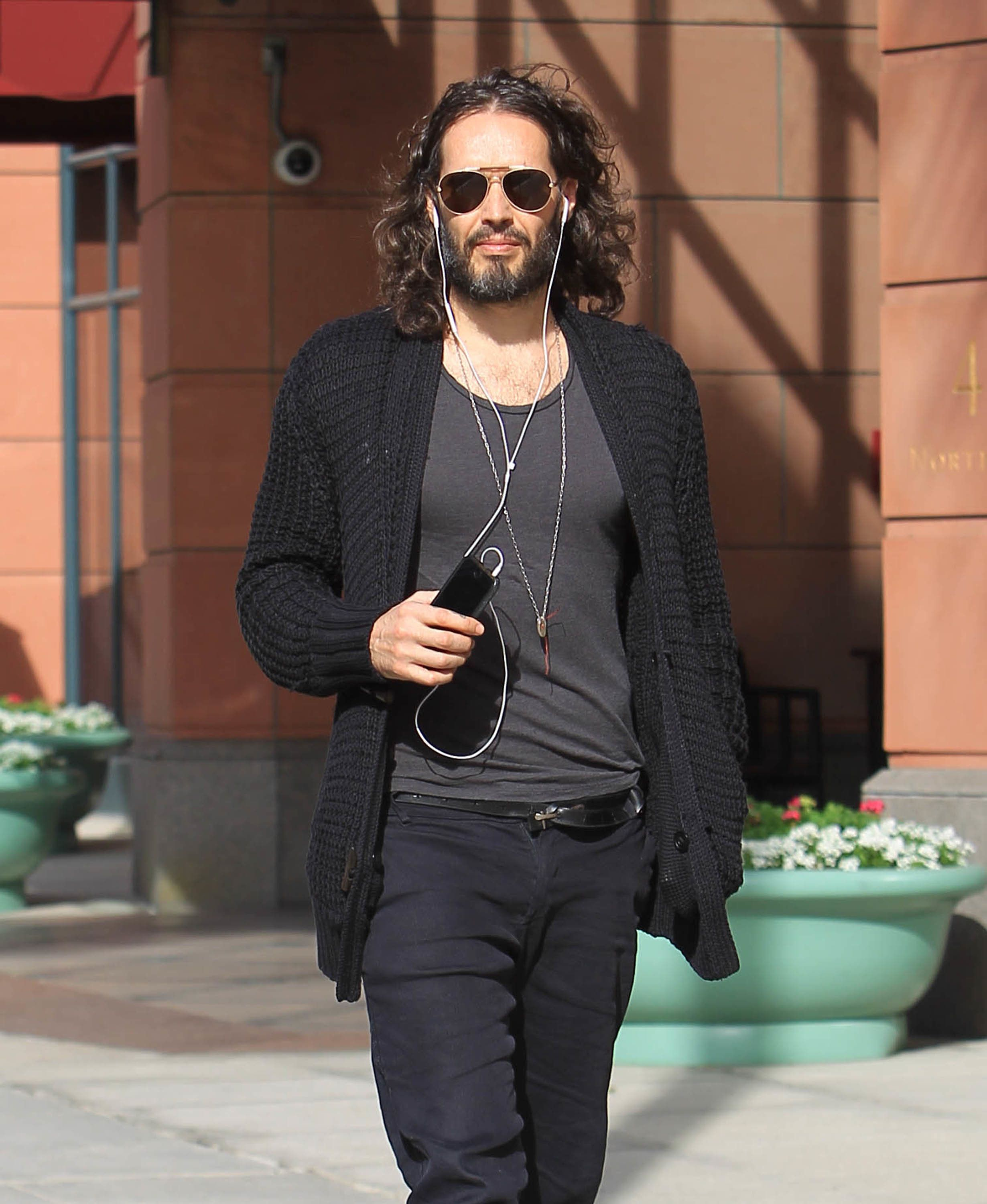 Russell Brand's Parenting Views Labelled 'Sexist' After Nappies