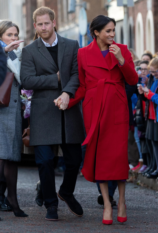 Royals: Warum das Baby von Meghan und Harry Geschichte schreiben