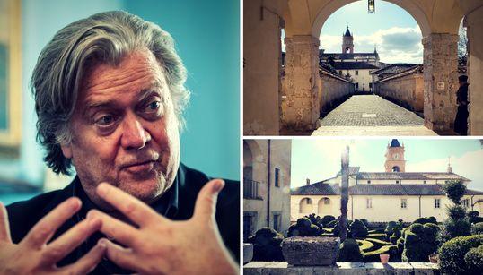 Warum Trumps Ex-Chefstratege Bannon jetzt in ein Kloster in Italien