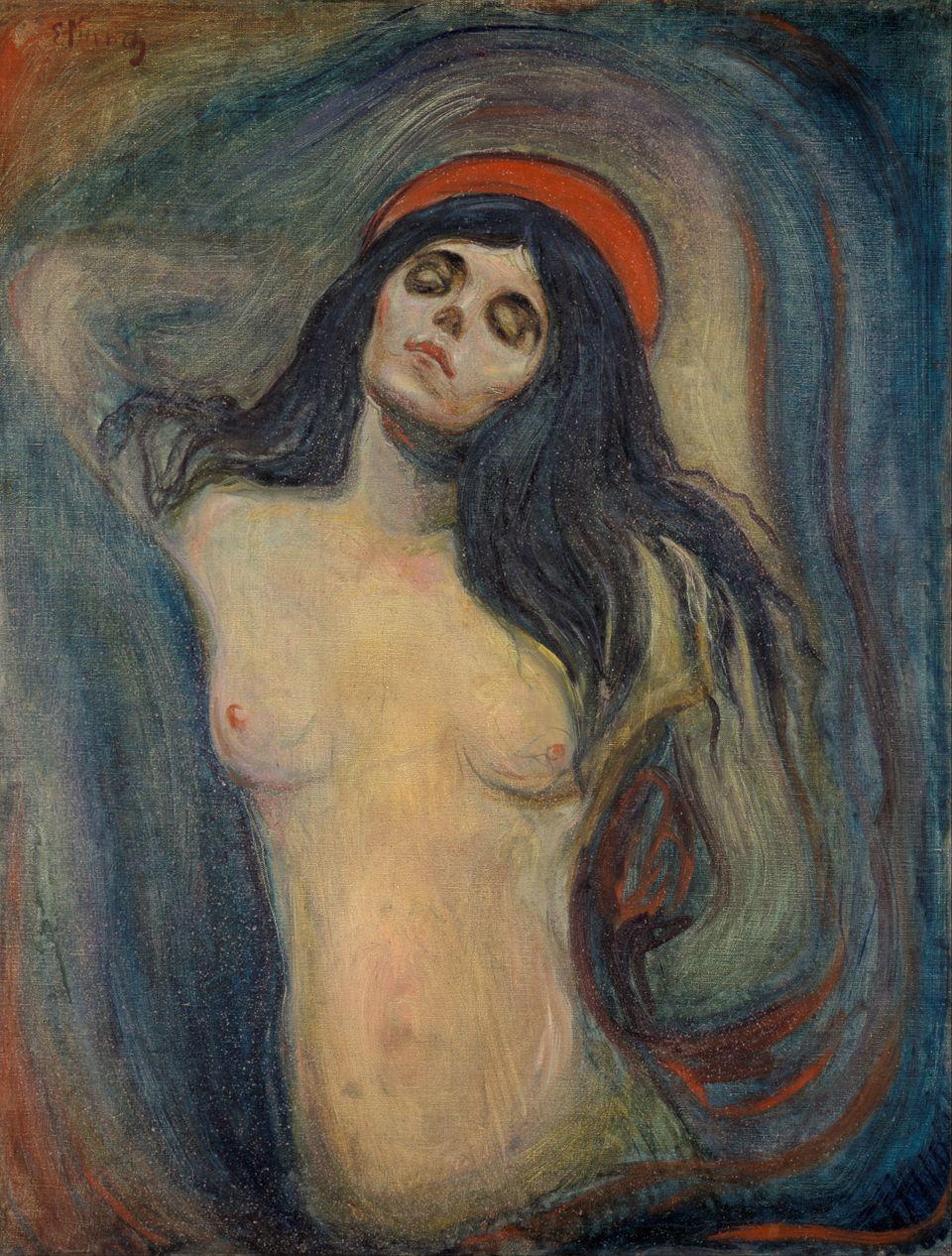 Εικόνα 2.Edvard Munch, Madonna, 1894, Munch