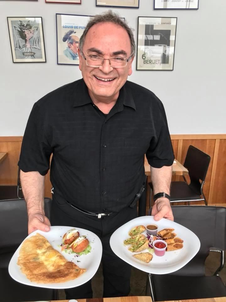 À la rencontre d'Alain Cohen, qui fait découvrir aux habitants de Los Angeles la gastronomie tunisienne dans son restaurant