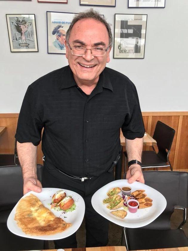 À la rencontre d'Alain Cohen, qui fait découvrir aux habitants de Los Angeles la gastronomie tunisienne...