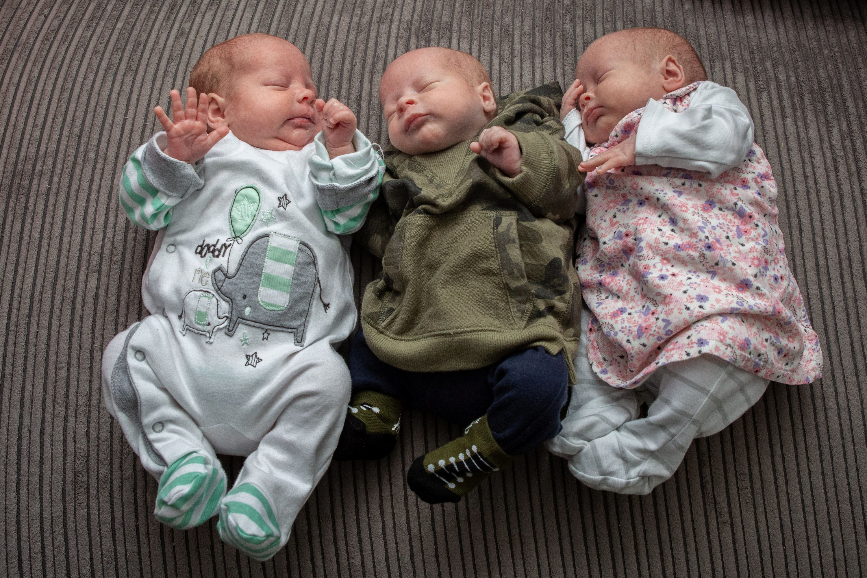 Mum Has IVF Baby And Twins At The Same Time After Having Sex Before Embryo