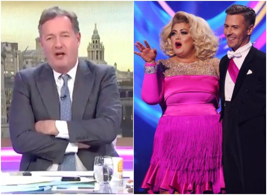 Piers Morgan Wades Into 'Dancing On Ice' Row, And He's Actually On Gemma Collins'