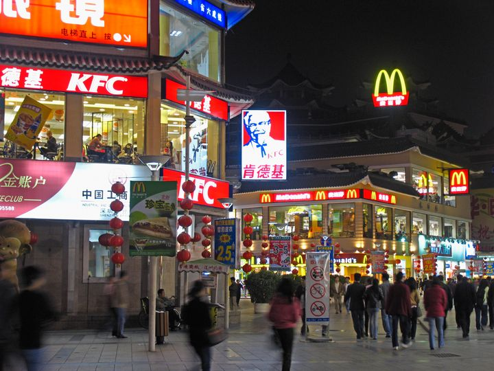 Fast-food restaurants have proliferated in Shenzhen, a city in southeastern China.