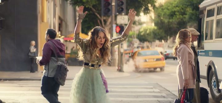 Sarah Jessica Parker reprises her Carrie Bradshaw role in a new initiative for Water.org.