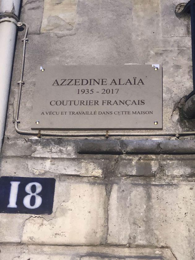 L'émotion de Naomi Campbell à l'inauguration de la plaque commémorative parisienne d'Azzedine