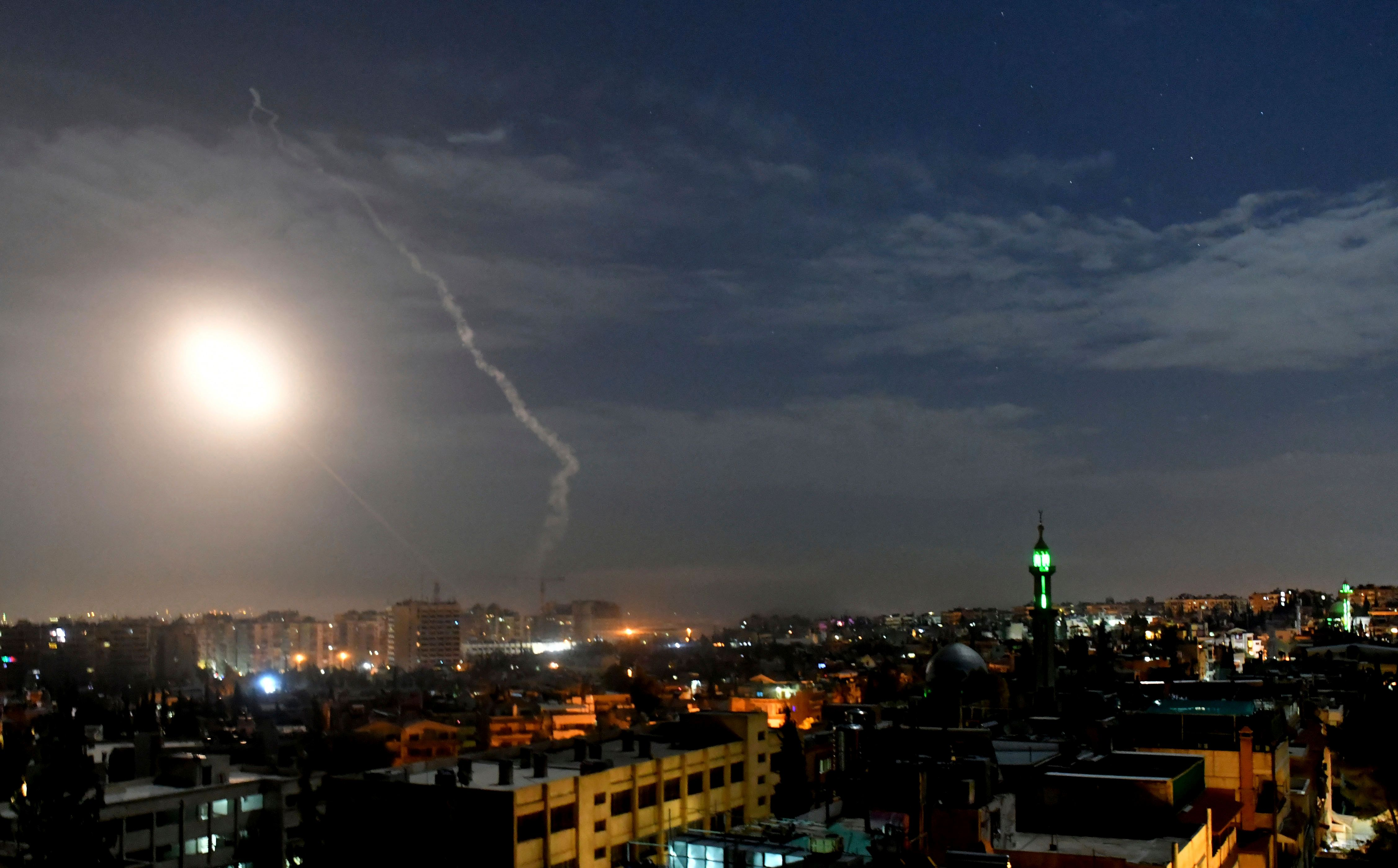 Israel Strikes Iranian Military Targets In