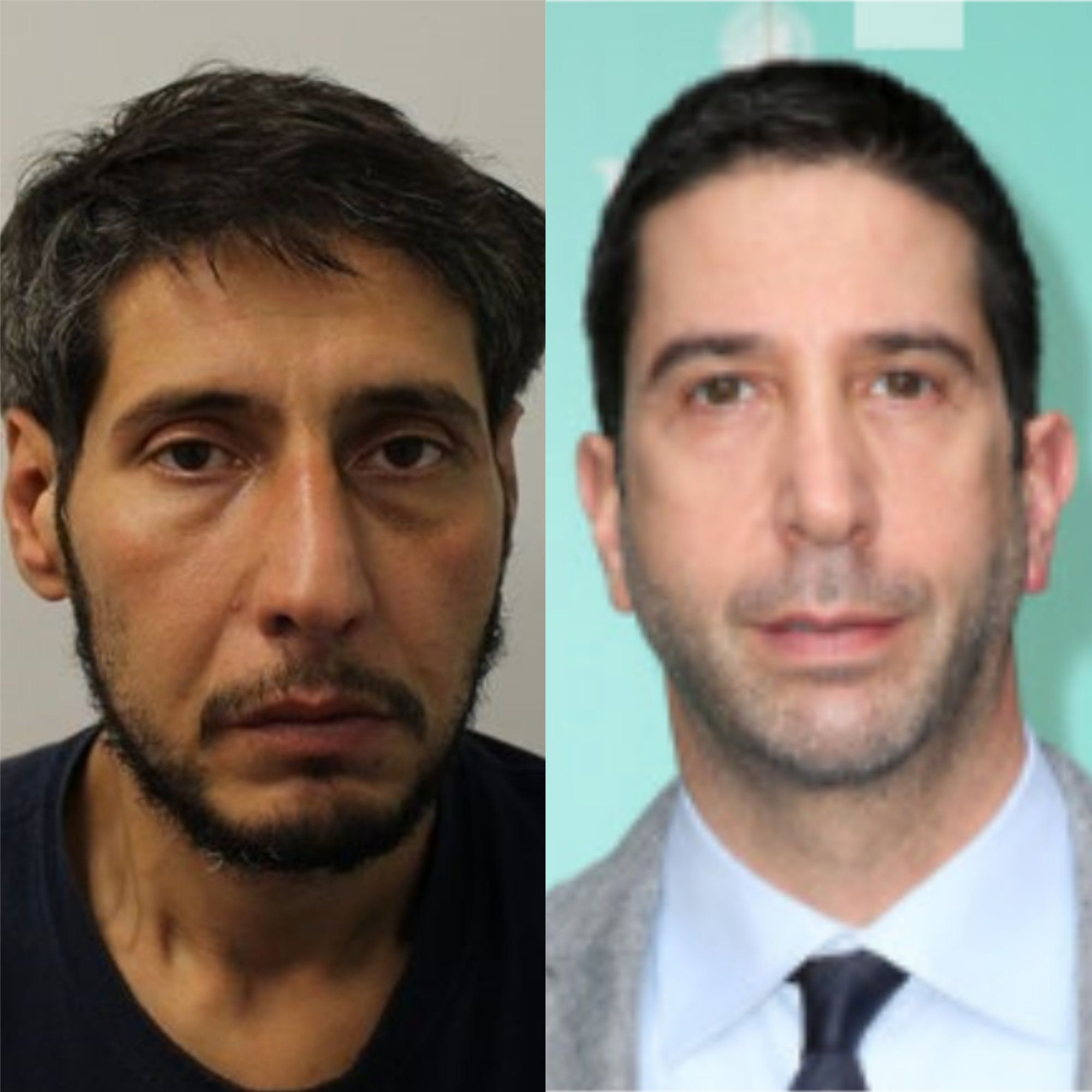 Police Release Mugshot After 'David Schwimmer Lookalike' Fails To Turn Up To
