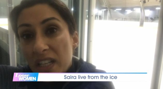 Saira Khan aired her views on the 'Dancing On Ice'