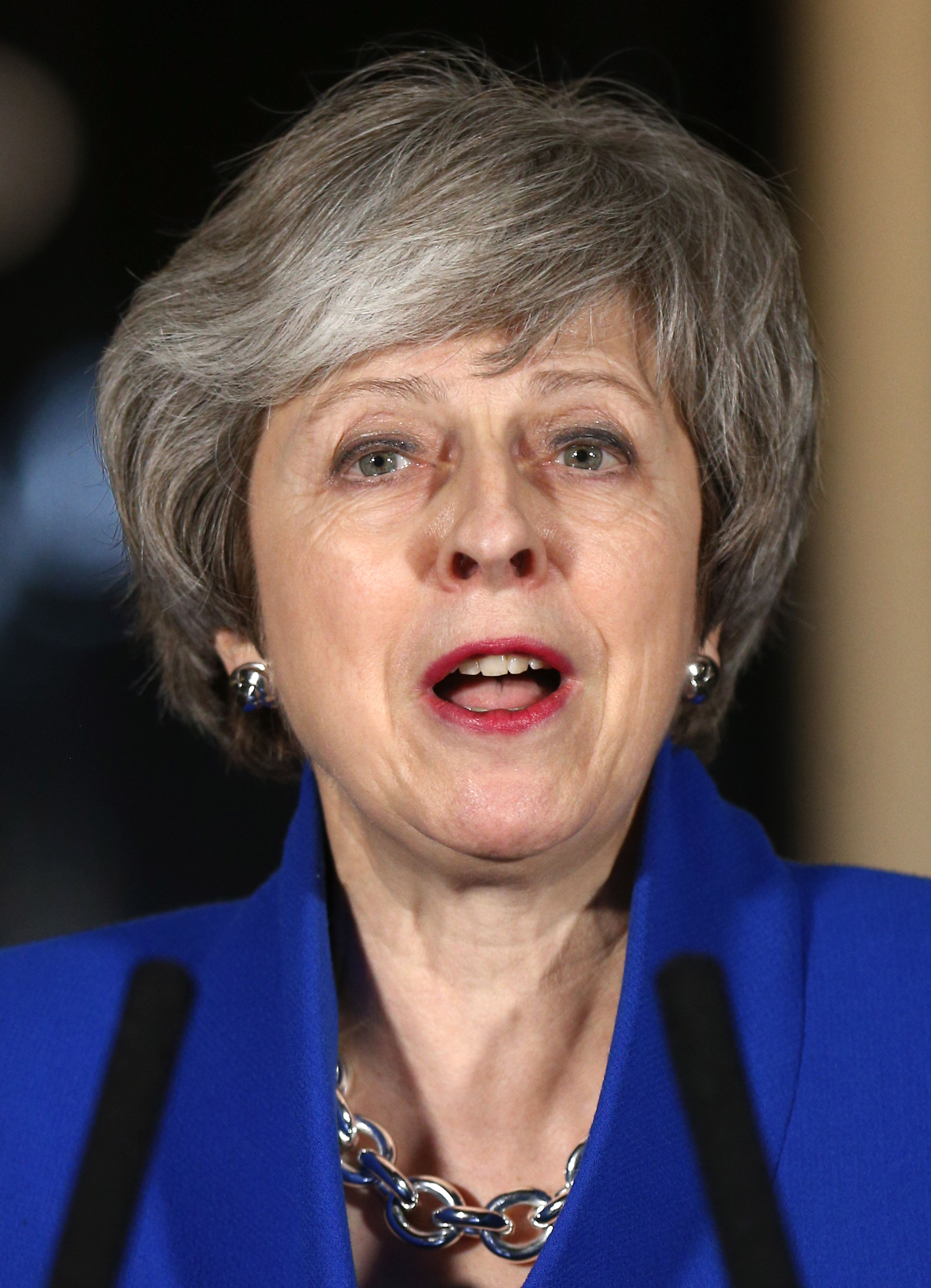 'Fascist' Row As May Hints New Brexit Vote Will Spark