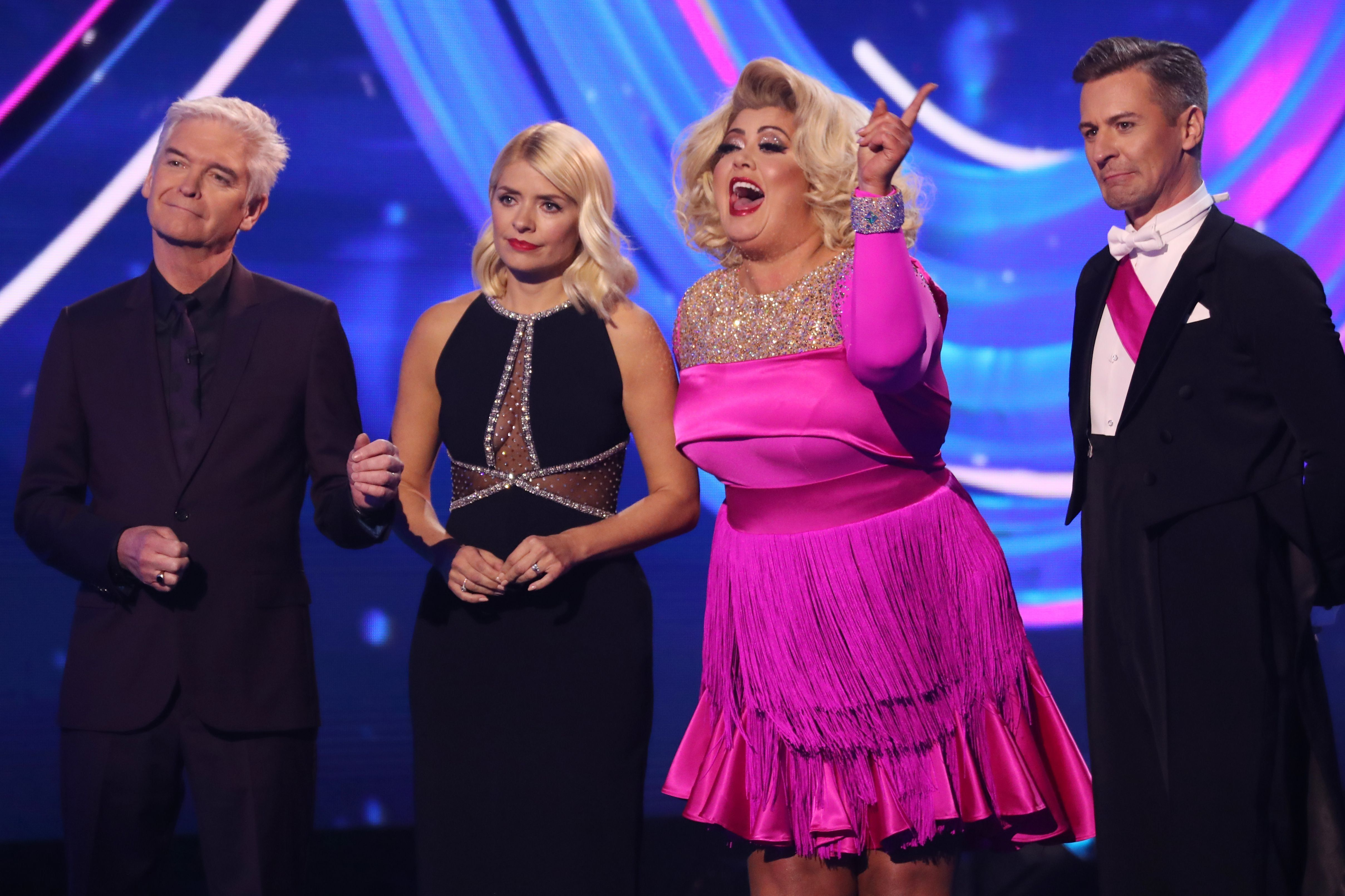 Gemma Collins ranted at Jason Gardiner on Sunday's 'Dancing On