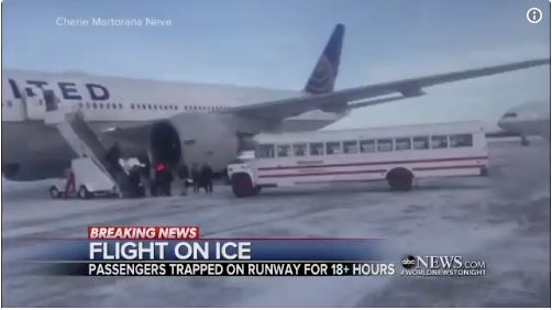 United Passengers Stranded On Canadian Tarmac For Over 18