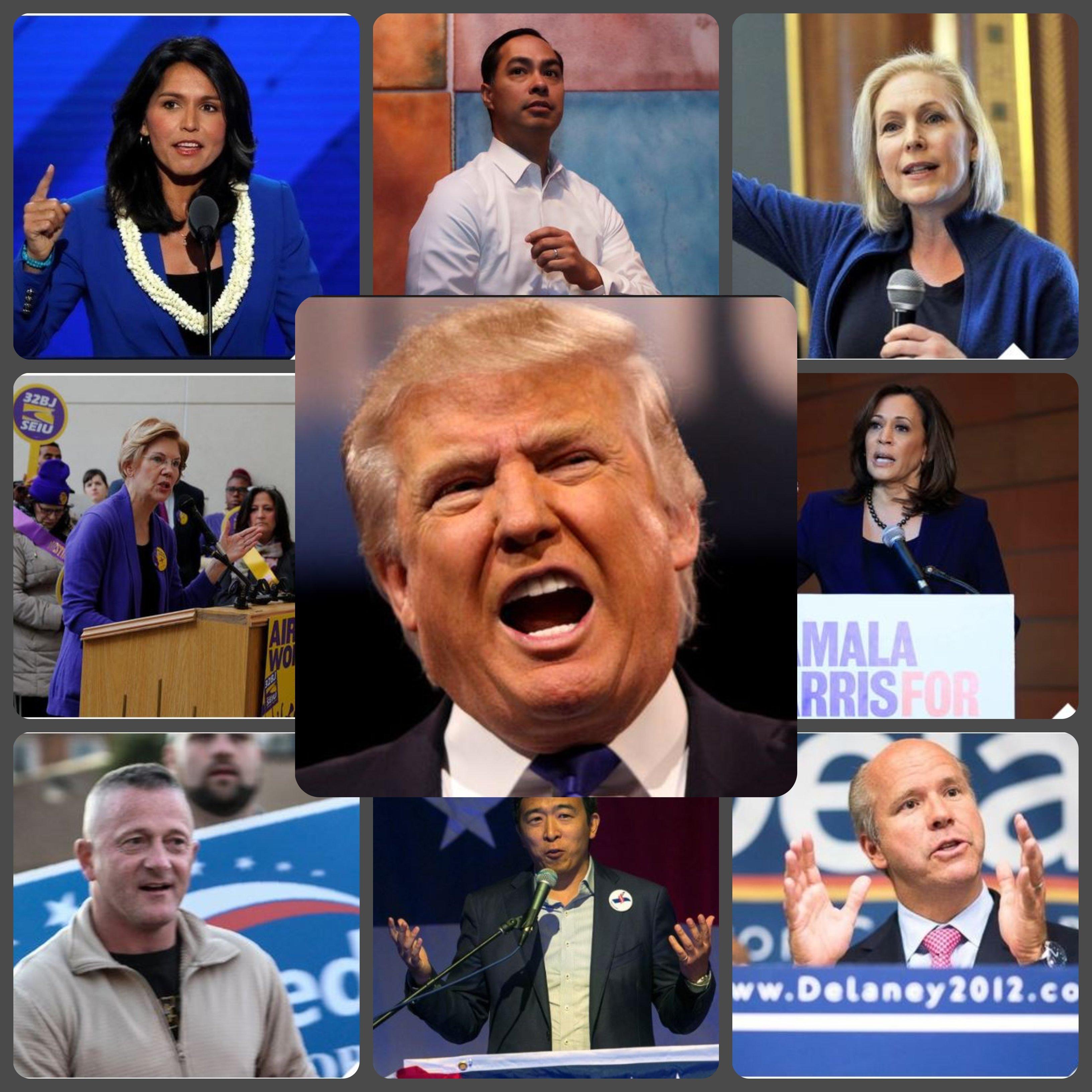 ΗΠΑ: Αυτοί είναι οι υποψήφιοι πρόεδροι των Δημοκρατικών για τις εκλογές του 2020