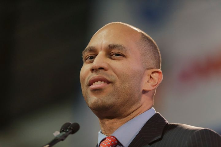 Rep. Hakeem Jeffries (D-N.Y.), chairman of the House Democratic Caucus, delivered a stinging rebuke to President Donald Trump