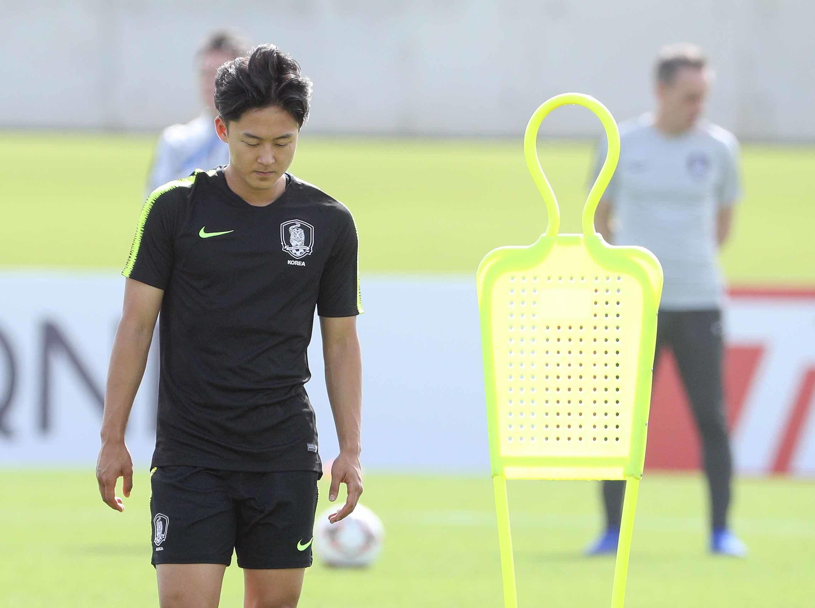 [아시안컵] '태도논란' 이승우 관련 질문에 파울루 벤투 감독이 한