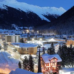 Elites Gather In Davos As The World Spirals Into