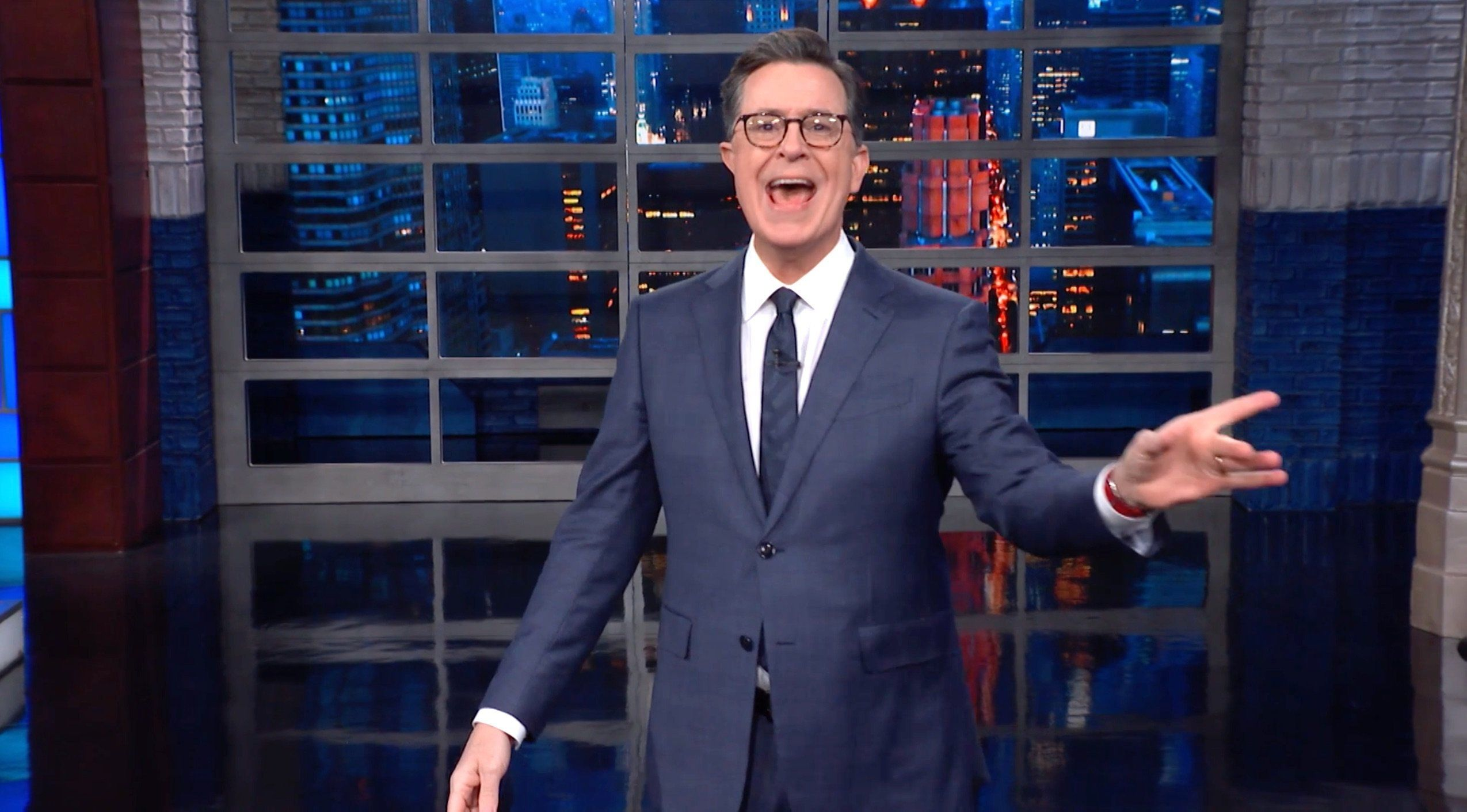 Stephen Colbert Perfectly Sums Up Trump's 'Offer' To End The
