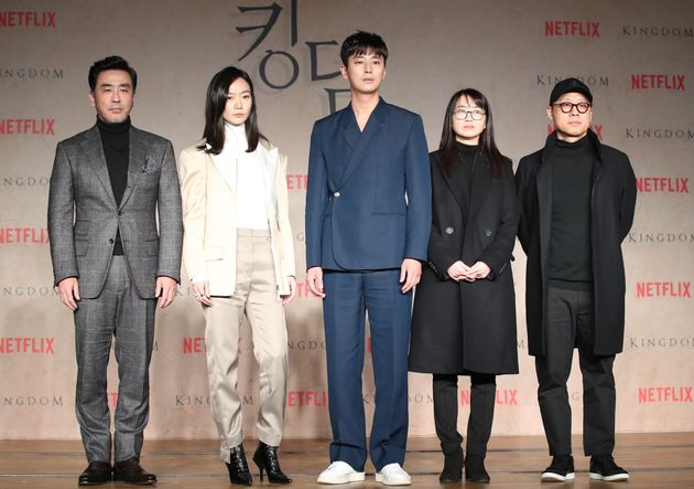류승룡이 '킹덤' 제작발표회서 좀비와 마주하자마자 보인