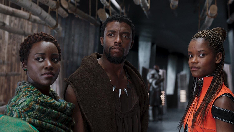 """Black Panther"" on Netflix."
