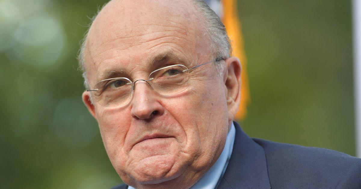 Rudy Giuliani's Afraid Lying For Trump 'Will Be On My Gravestone'