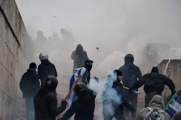Το προφίλ των συλληφθέντων για τα επεισόδια στο συλλαλητήριο για τη