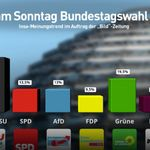 Umfrage: AfD schmiert nach Verfassungsschutz-Ankündigung ab – 2 Parteien