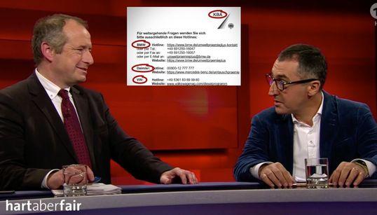 """""""Hart aber fair"""": Wegen eines Briefs wettert CDU-Staatssekretär gegen Verkehrsminister"""