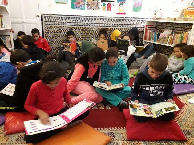 La bibliothèque des enfants de la médina à Fès: une porte ouverte sur le