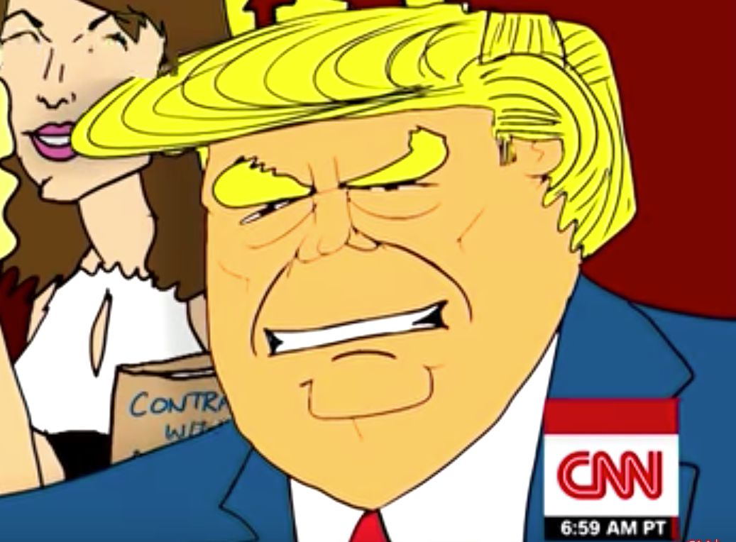 CNN's Jake Tapper Suggests Cartoon Answer To All Of Donald Trump's Shutdown Problems