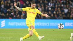 Emiliano Sala, ex-attaquant du FC Nantes, à bord d'un avion disparu en