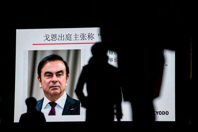 Carlos Ghosn, détenu depuis deux mois à Tokyo et inculpé de malversations financières,...