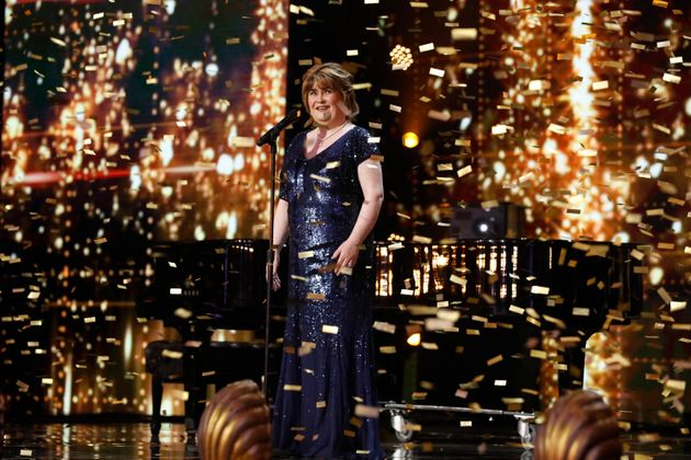 Susan Boyle was Mel B's Golden
