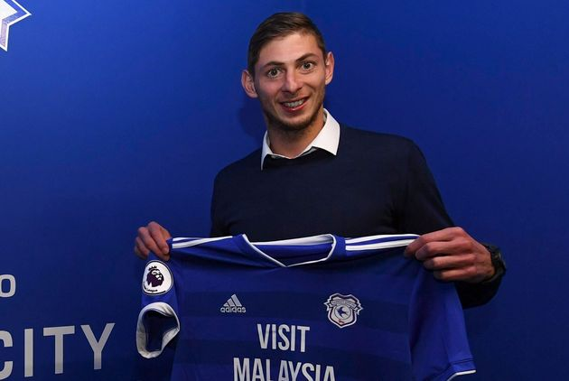 Emiliano Sala was onboard a plane which vanished in the English Channel on Monday.