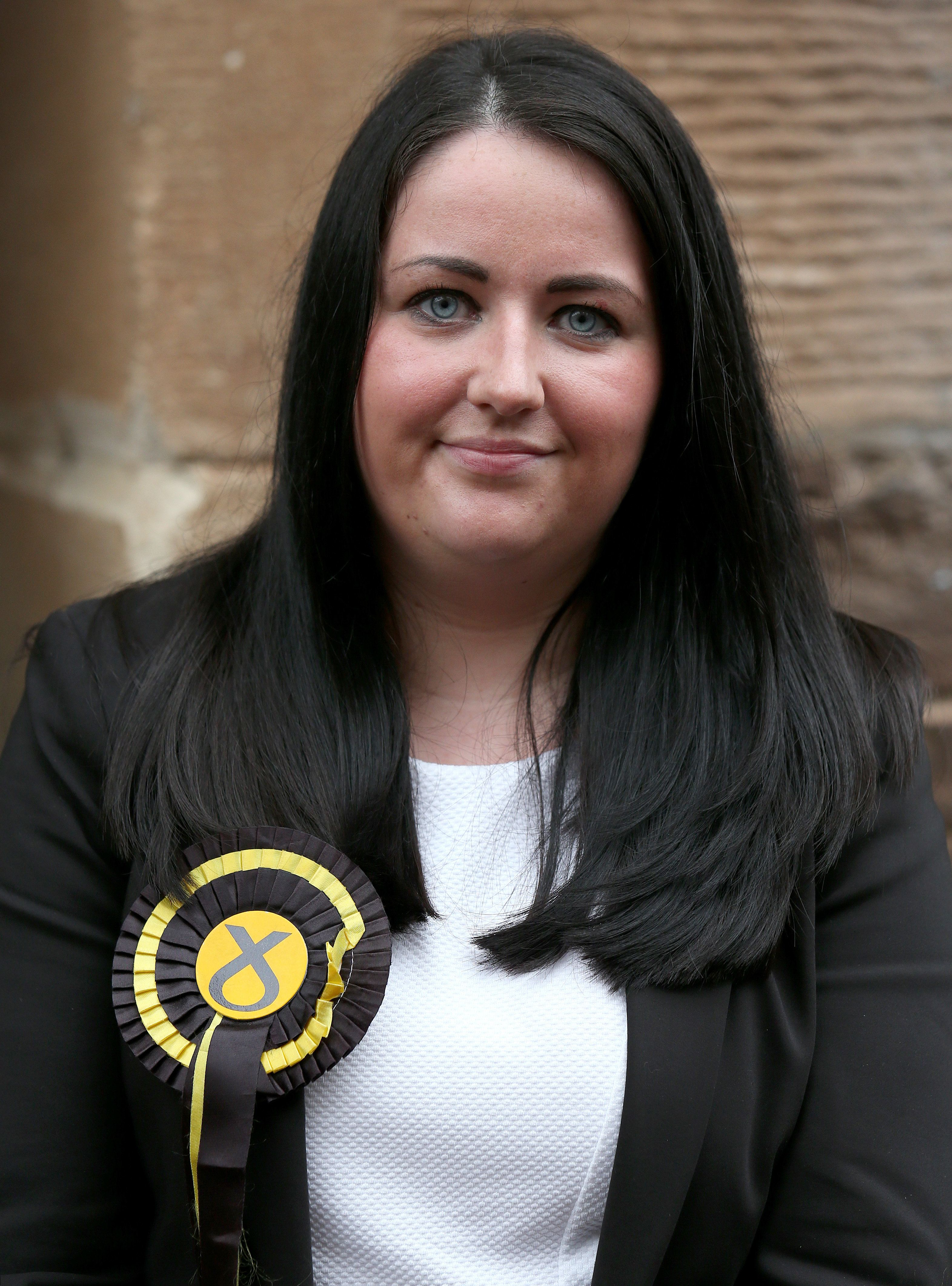 Scottish National party MP Angela Crawley, who has called for a debate in parliament about mental...