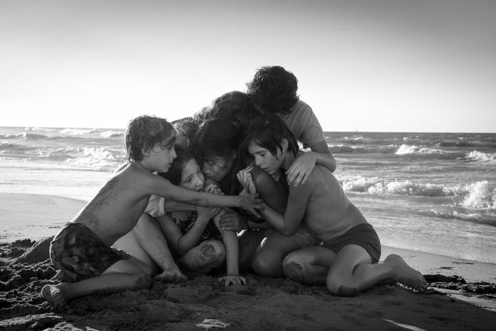"""Roma"" is also the first Netflix film to be nominated for best picture."