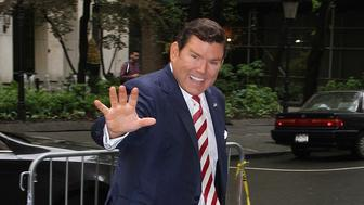 NEW YORK, NY - MAY 17: FOX News journalist and host Bret Baier spotted arriving at 'The View' in New York, New York on May 17, 2018. Photo Credit: Rainmaker Photo/MediaPunch /IPX