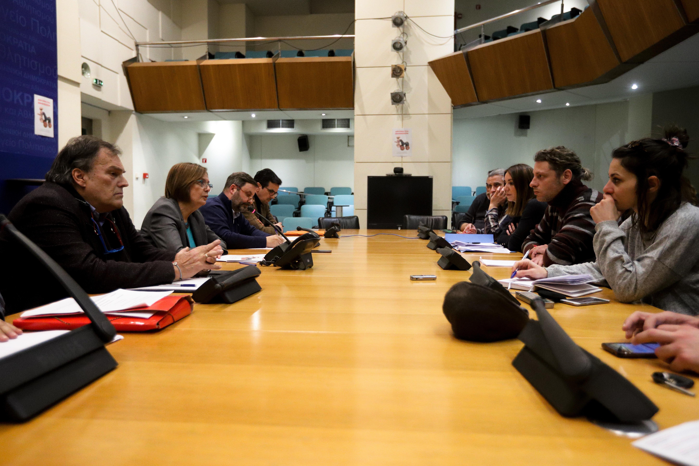 Αδιέξοδο στη συνάντηση Ζορμπά - Ηθοποιών για το ΚΘΒΕ
