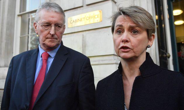 Labour's Hilary Benn and Yvette