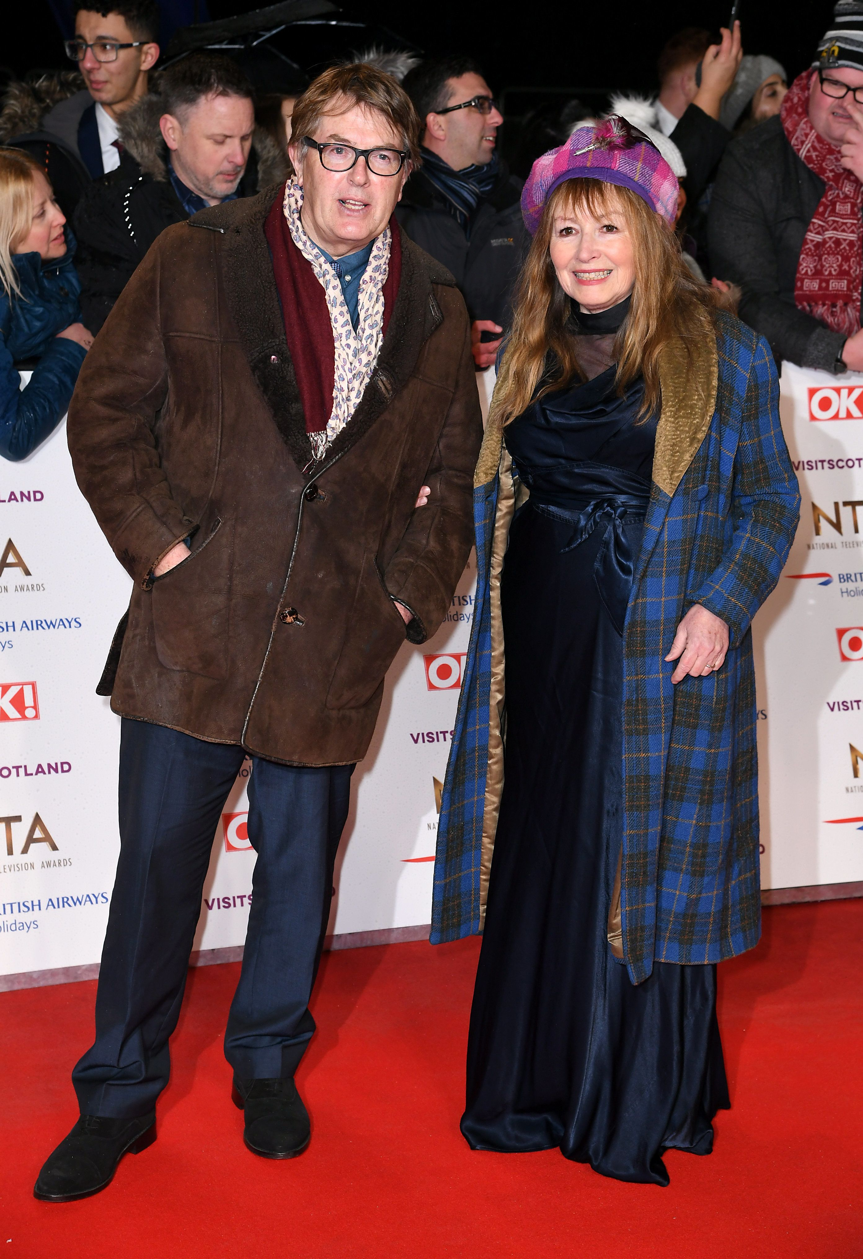 NTA Awards 2019: Giles And Mary From 'Gogglebox' Serve Looks On The Red Carpet And We're Nutty For