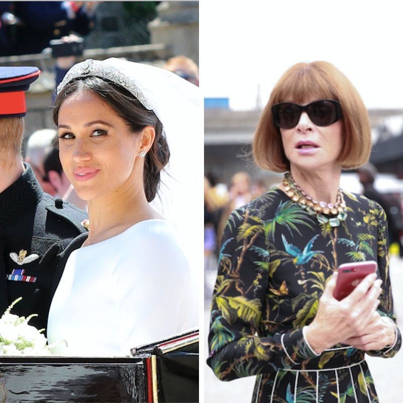 Anna Wintour Reveals How She Really Feels About Meghan Markle's Wedding