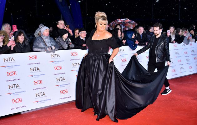 NTA Awards 2019: Gemma Collins' Red Carpet Appearance Was Typically Understated