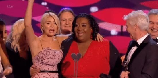 Alison Hammond Asks 'What About Me?' As Holly And Phil Fail To Name-Check Her In NTAs
